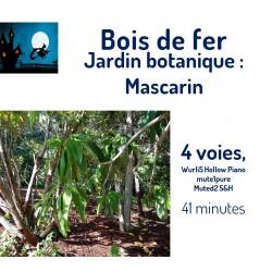 Jardin des Mascarins  Bois...